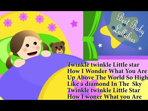 Twinkle Little Star Lyrics Lullabies Lullaby For Babies To Go To Sleep Baby Songs Sleep Music