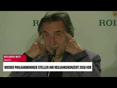 Wiener Philharmoniker stellen Neujahrskonzert 2018 vor