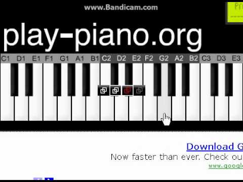 How to play hedwigs theme on piano