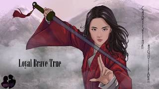 "Christina Aguilera - Loyal Brave True ""From Mulan"" (Lyric Video)"