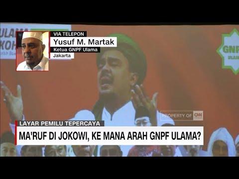 Ma'ruf Amin Cawapres Jokowi, Gerindra: Tidak Jaminan Suara Bertambah
