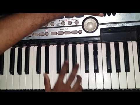Pappi de paru  la on keyboard