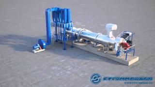 Стром-Эко(Технологическая линия по утилизации буровых шламов Стром-Эко. Производитель Самарский Завод