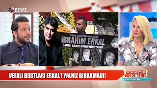 Gambar cover Vefalı dostları İbrahim Erkal'ı son yolculuğuna uğurladı...
