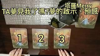 {塔羅占卜} TA有夢見我嗎?夢的提示和預言 (無時間限制) Pick A Card