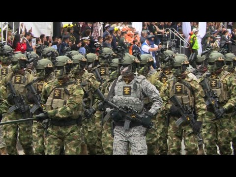 Colombia celebrates independence with military parade
