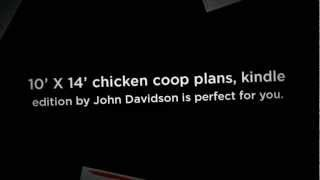 10' X 14' Chicken Coop Plans, Kindle Edition: Affordable Chicken Coop Plans