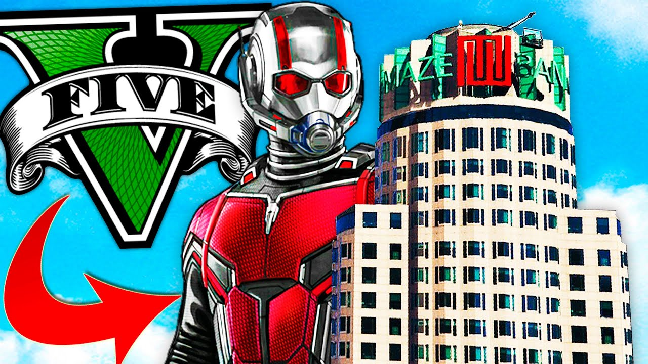 Soy ANTMAN en GTA 5! Grand Theft Auto V - GTA V Mods