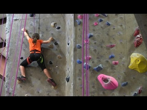 Aiguille Rock Climbing Center: Test your climbing skills in Longwood