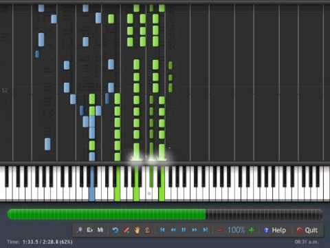 Piano Tutorial The Beatles Twist And Sout Piano Synthesia Youtube