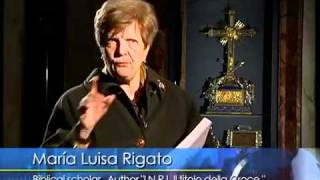 """The """"Titulus Crucis"""" sign of I.N.R.I, a true relic of Rome"""