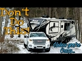 RV Travel in Snow | 50. Road Warrior Life | RV Living Full Time