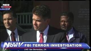 FNN: FBI Press Conference on San Bernardino Shooting Investigation