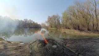 Браконьеры не ушли на КАРАНТИН Турунчук ловим жереха и снимаем сети