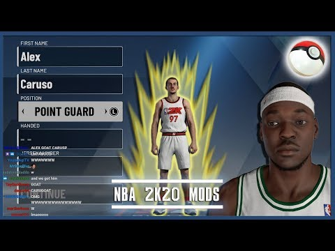 NBA 2K20, But It's Actually Fun To Play Because Mods (Ft. Alex Caruso Build)