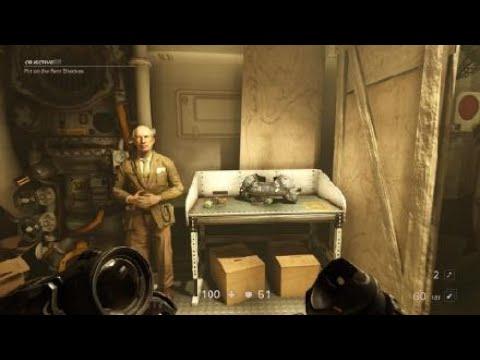 Wolfenstein® II: The New Colossus: Head Transplant scene