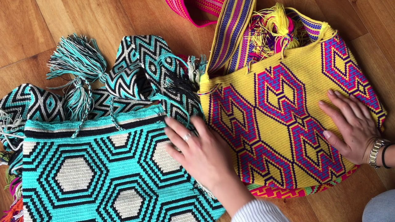 How To Tell The Difference Between Double Thread And Single Wayuu Bags