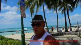 Hardcorowy Koksu na Waikiki beach 2017 Video