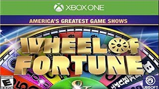 Wheel Of Fortune XBox One Game 1