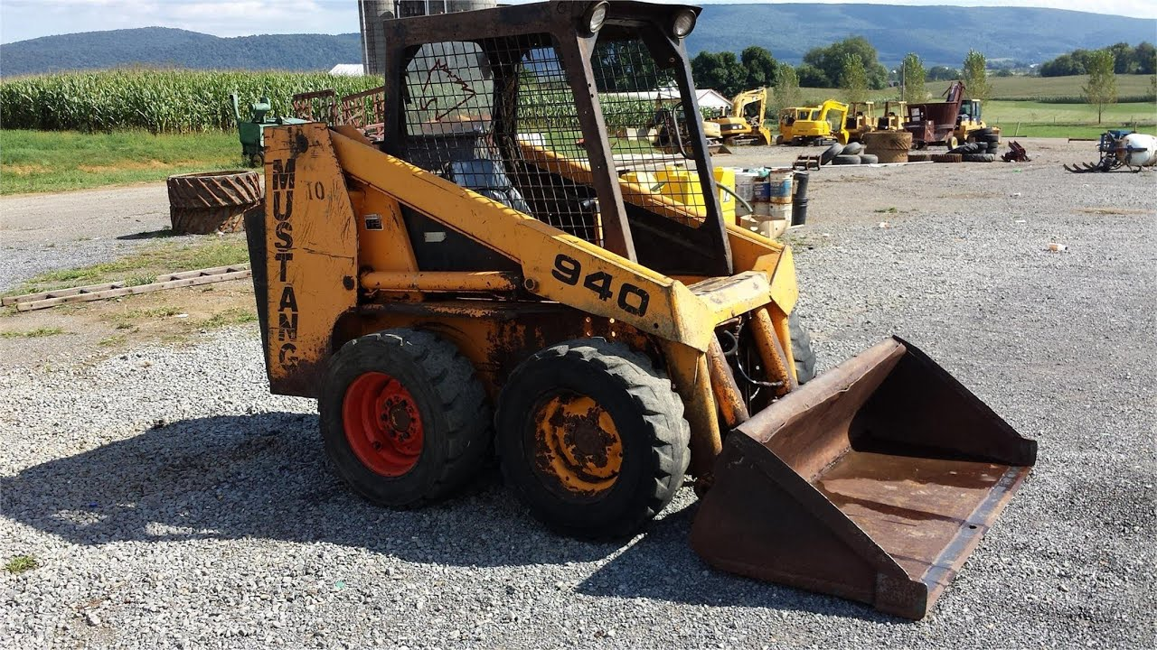 hight resolution of mustang 940 skid steer loader youtube rh youtube com bobcat skid steer electrical diagrams cat skid