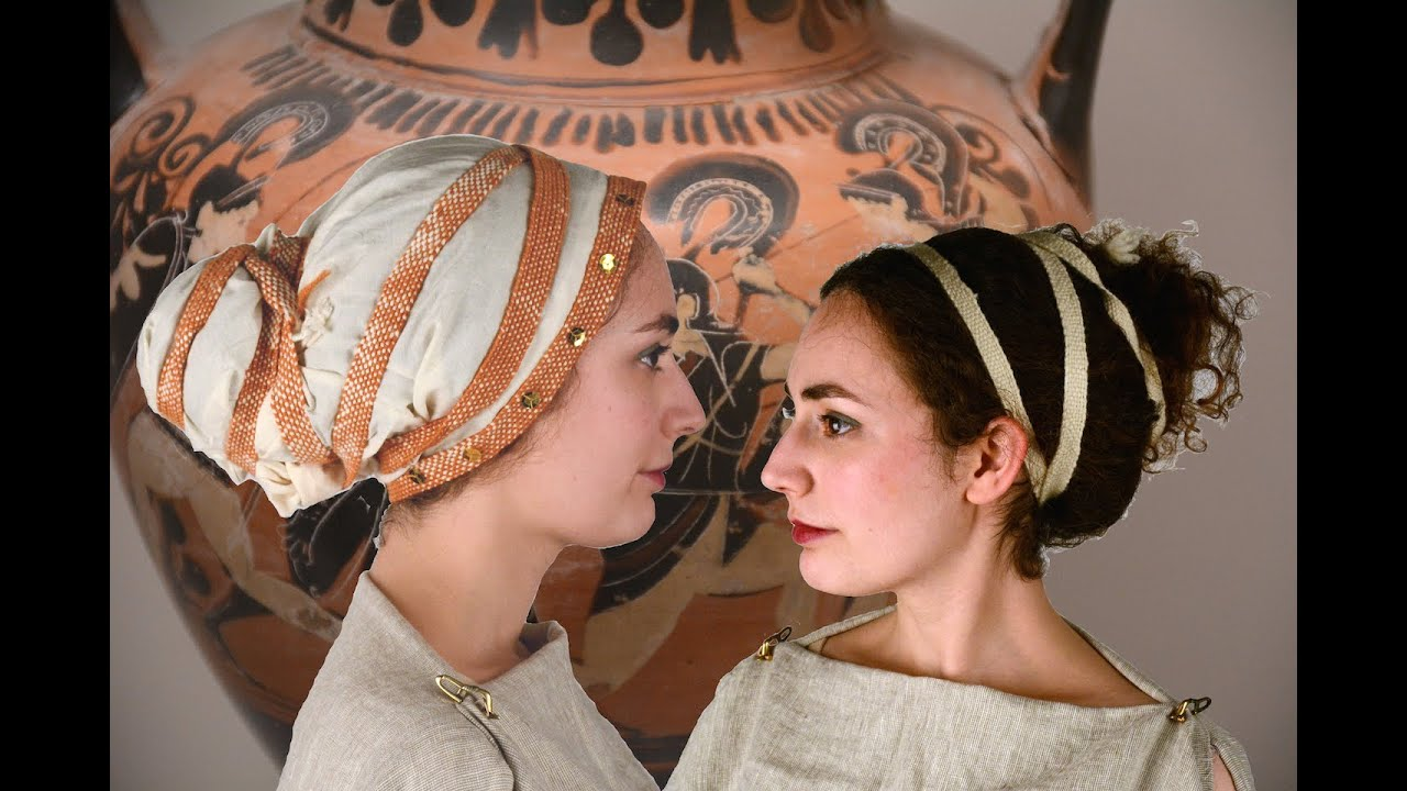 history of hairstyling – ancient greece » salon treuvis