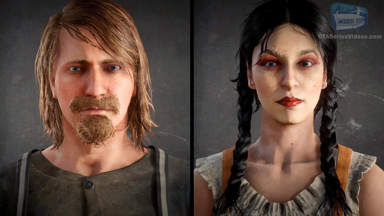 Red Dead Online - Character Creation Showcase (Male & Female)