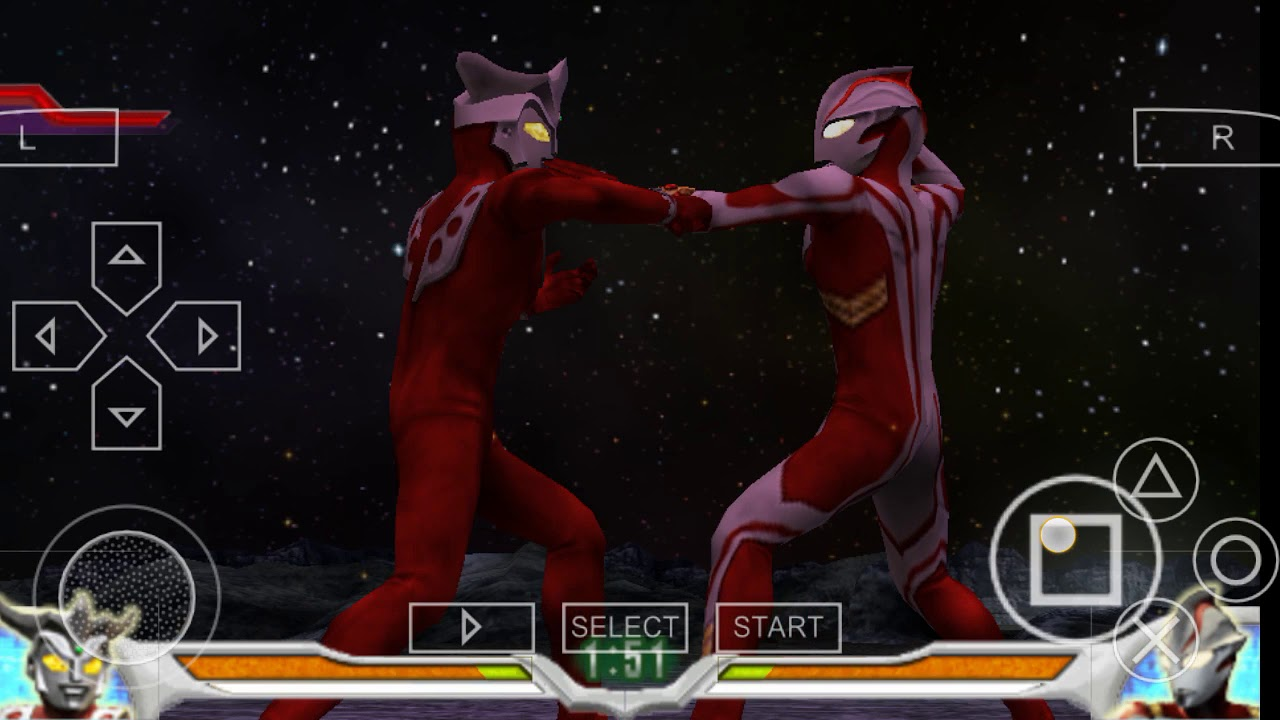 tips and trick bermain ultraman ppsspp - YouTube