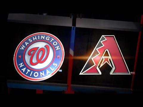 MLB The Show 18 Sunday Night Baseball - Washington Nationals vs Arizona Diamondbacks 5/13/2018