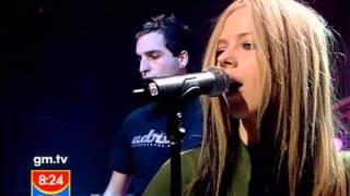 Video Avril Lavigne - Don't Tell Me @ Live at GMTV 28/04/2004 download MP3, 3GP, MP4, WEBM, AVI, FLV Juni 2018
