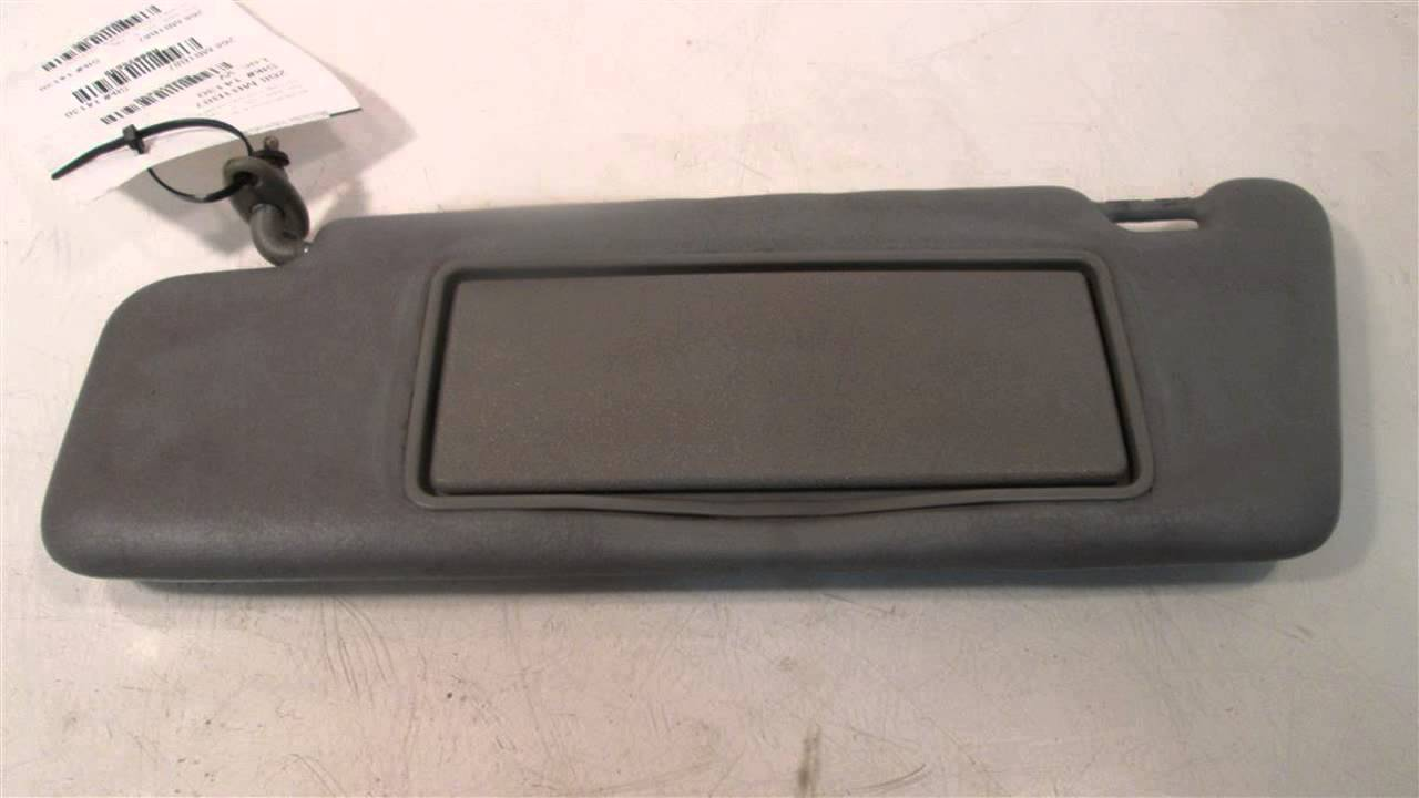 1987 Mercedes 190E Sun Visor LH GREY GOOD SHAPE 201TYPE - mbiparts.com Used  OEM Mercedes Part... OEM 123e2a0ae4b