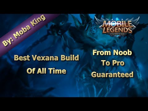 Mobile Legends Best Vexana Build Of All Time | Full Hero Review | Quadra Kill