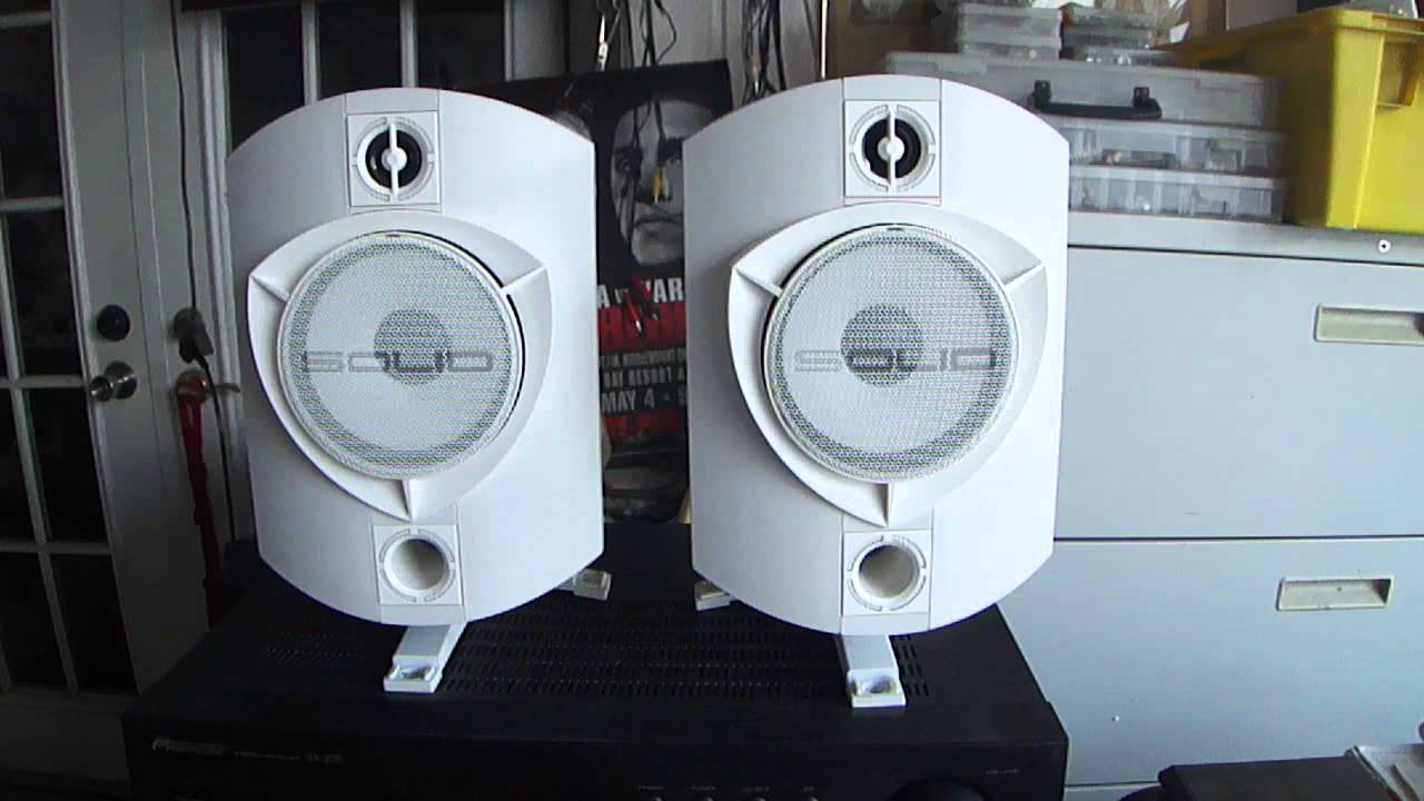 Bowers Wilkins Speakers >> Rock Solid Sounds Speakers England working sound, - YouTube