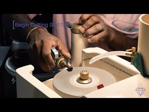 IGT Gem Cutting + Preforming Faceting Demonstration