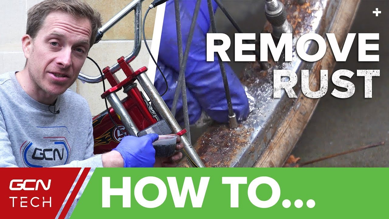 how to remove rust from your bicycle clean your bike with household products youtube. Black Bedroom Furniture Sets. Home Design Ideas