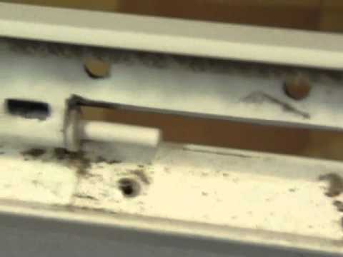 Repair Hinge Pins On Larson Storm Door Youtube