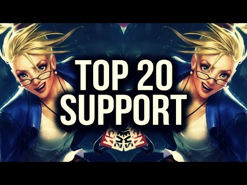 Top 20 SUPPORT Plays | League of Legends