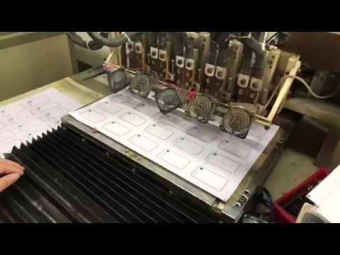 RFID Card Maunfacturing Process - NFC / RFID Inlay Production-Welding chip