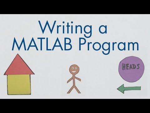 Download How to Write a MATLAB Program - MATLAB Tutorial