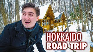 Let's discover Hokkaido by hopping in a car and going on a road tri...