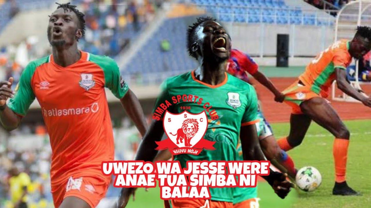 Tazama Uwezo Mkubwa Wa Mshambuliaji Mpya Wa Simba Sc Jesse Were Kutoka Zesco