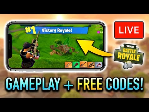 Fortnite Mobile 1st Place WIN! (FREE CODE Giveaway + Ultra Graphics)