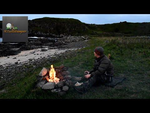 Wildcamping In Ireland - Coastal Solo Wildcamp