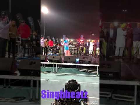 Jazzy b live performance in Kabbadi world cup 2018 || Melbourne || Australia