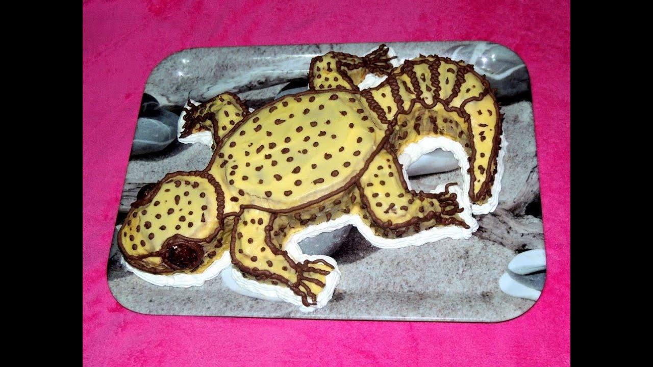 How to make a leopard gecko cake youtube pronofoot35fo Choice Image