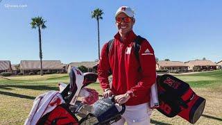 Scottsdale native Kolton Lapa's golf journey brings him to the Phoenix Open