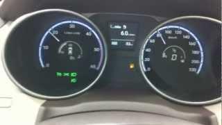 Hyundai IX35 CRDI VGT 2.0 A T 6 расход топлива. смотреть