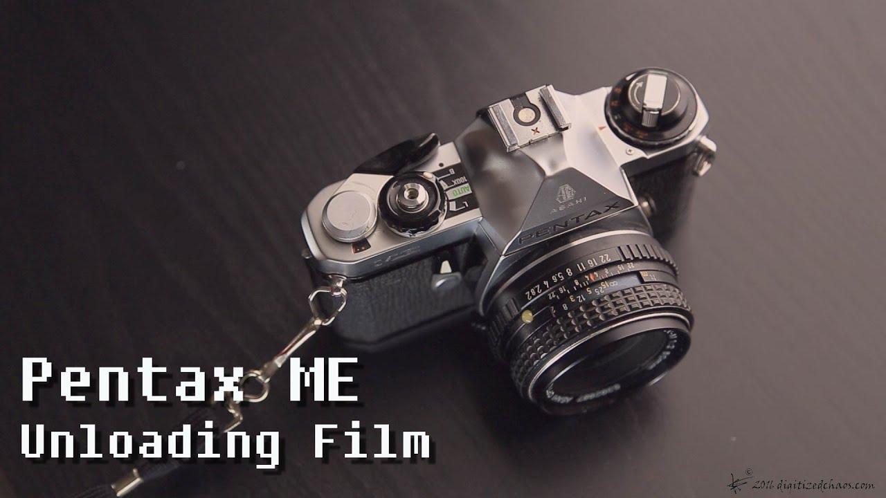 Pentax Me Unloading Film Youtube Kaos Camera Kamera Photograph 3 Digitized Chaos
