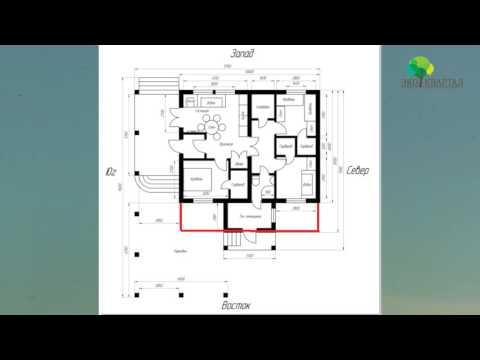 Планировка и план дома proektabcru