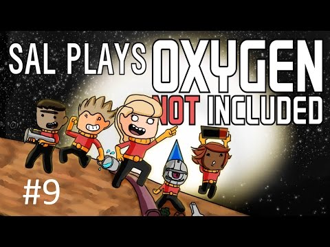 S1E09 Sal Plays ONI - Oxygen Not Included Expert(ish) Run - Steam Chamber