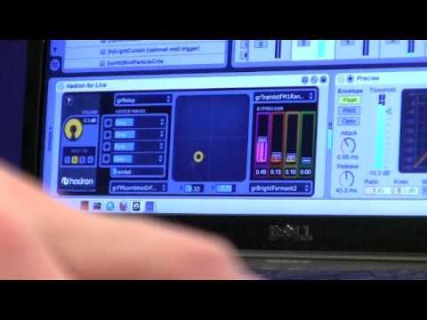 Hadron demo - monosynth